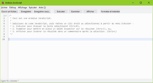 Ardoise-JavaScript