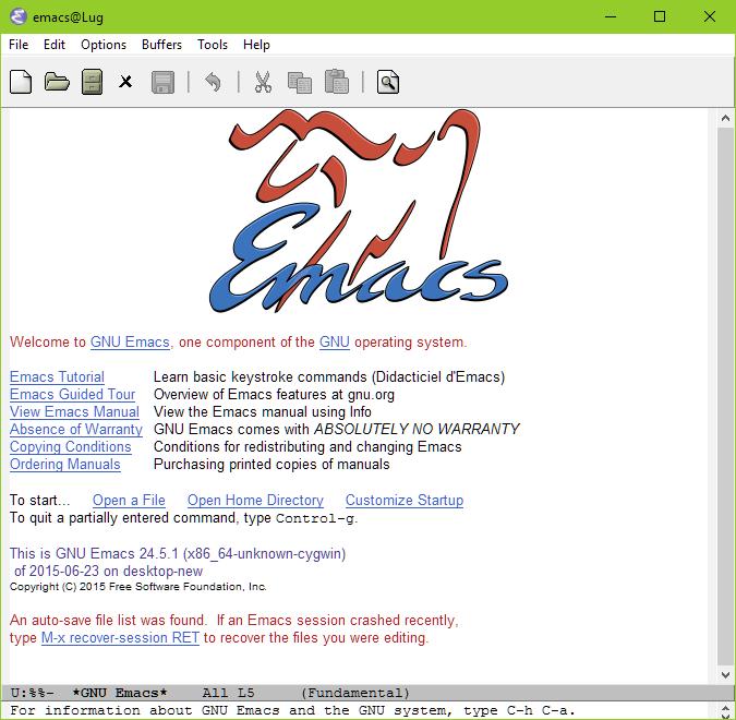 Cygwin Emacs