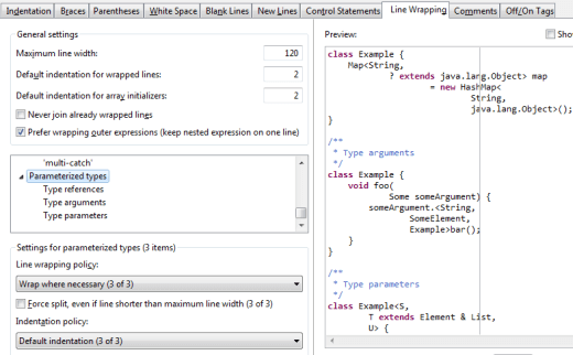formatter-wrap-parameterized