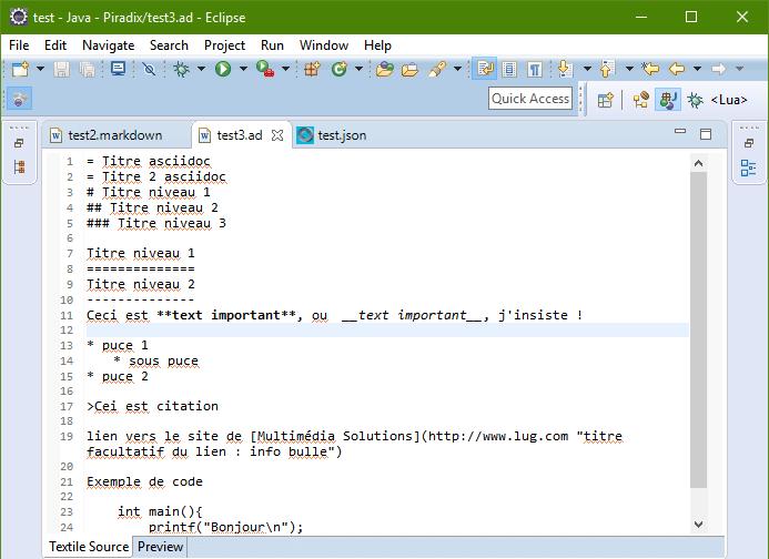 WikiText-Asciidoc